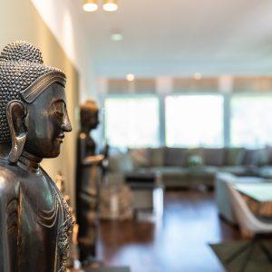 hoehnerhaus Zimmer mit Buddha