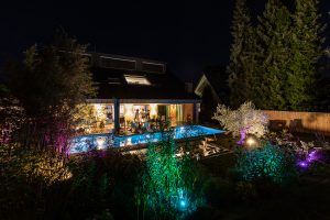hoehnerhaus - in der Nacht